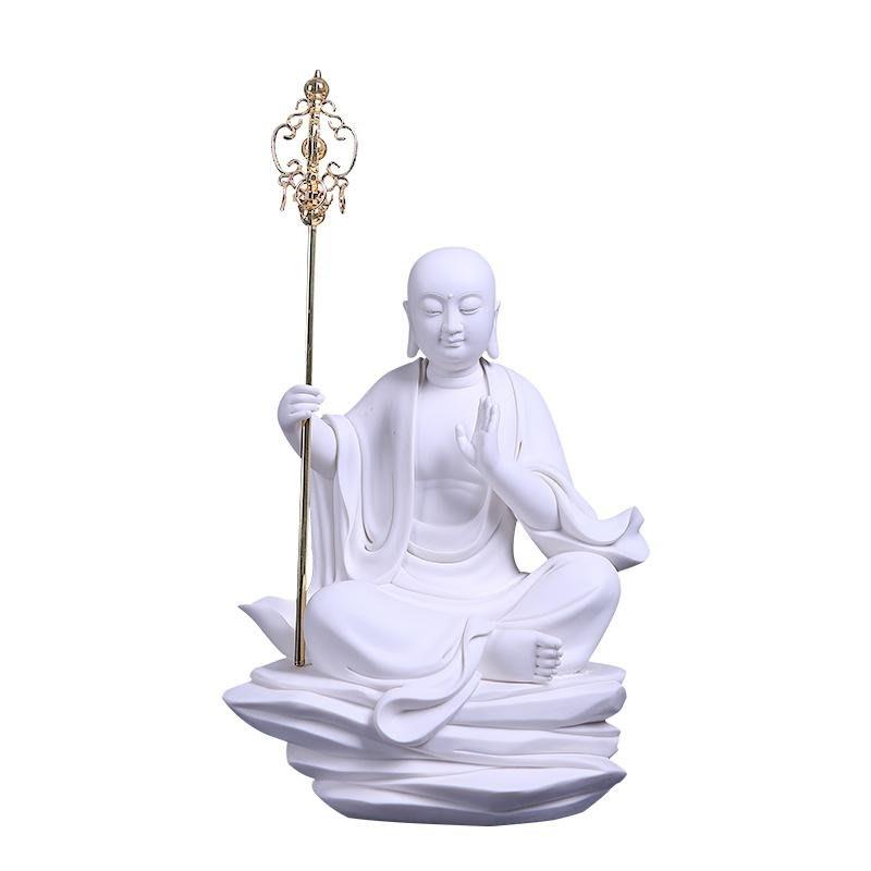 1.【傳藝】『大願地藏坐像』手工白瓷 高溫燒製工藝 高40cm 長23cm 寬15cm 限量結緣🙏