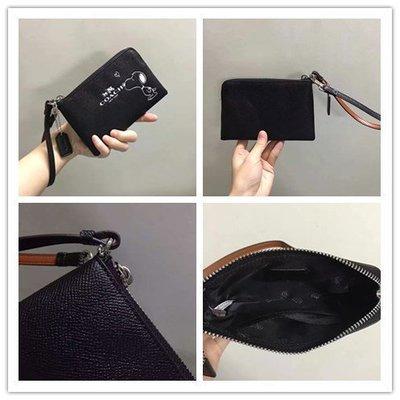 留學生like購 COACH 65193 史努比限量版 手拿包 零錢袋