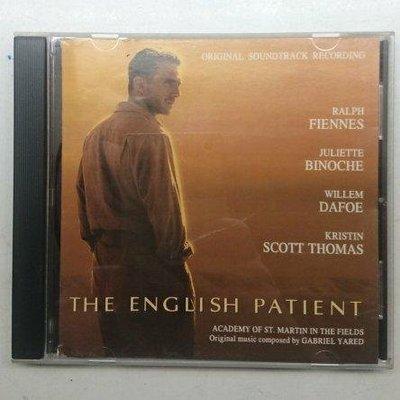英倫情人 電影原聲帶 THE ENGLISH PATIENT 1996年發行