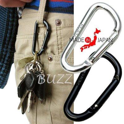 巴斯 日標PORTER屋-黑色 銀色現貨 PORTER karabiner 原廠鑰匙扣- 腰掛包專用掛勾-扣環