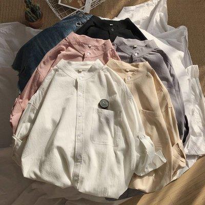 逆主流/男款19夏季新款休閒寬松情侶工裝短袖襯衣襯衫M~5XL