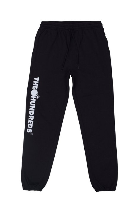 THE HUNDREDS WAKE SWEATPANTS 棉質長褲 -黑色【Hopes Taiwan】