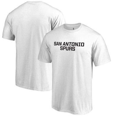 NBA馬刺隊Fanatics Branded Primary Wordmark T-Shirt短袖T恤-白色