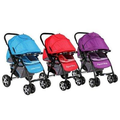 國城Mothers Love-歐風都會雙向手推車(藍色/紅色/紫色)T100
