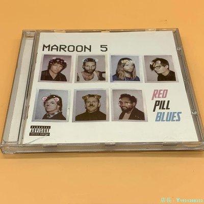Maroon5 red pill blues CD 專輯