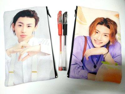偶像王台北西門町明星商品訂製(158)NINEPERCENT團體-筆袋-王琳凱