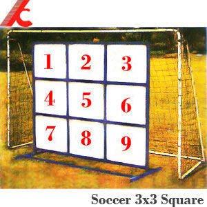 足球式3*3正方形九宮格(不包含足球網架)球類運動.運動健身器材運動健身器材P116-310【推薦+】