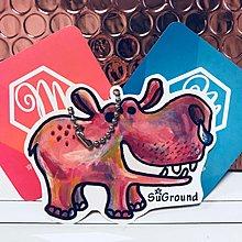 【CityMate X SuGround】粉紅河馬造型悠遊卡 一卡通 iCash2.0 禮贈品 生日禮物 情人節 聖誕節