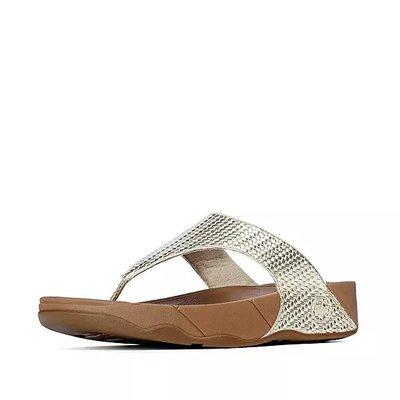 代購全新正品Fitflop LULU Weave Toe-Thongs女鞋US 9