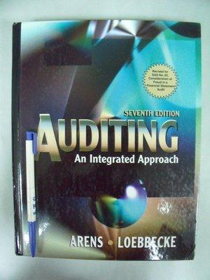 【姜軍府】《 AUDITING An Integrated Approach》第七版Prentice Hall原文書ISBN0136493858