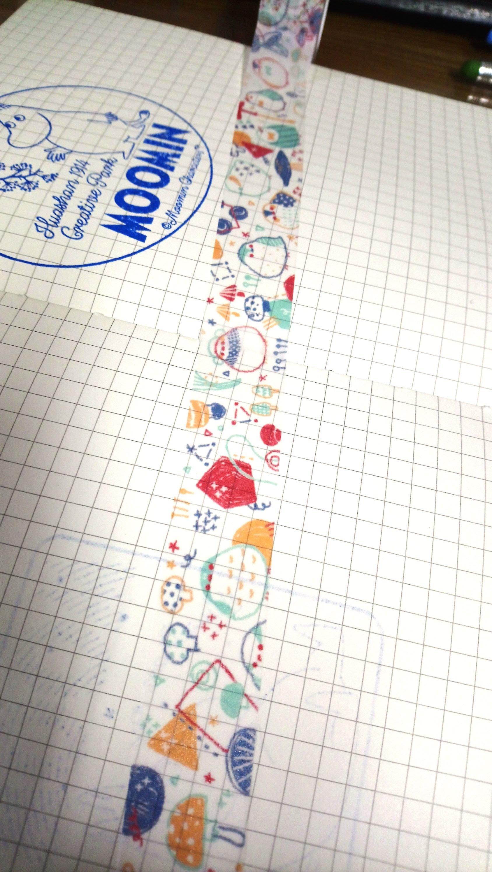 【R的雜貨舖】紙膠帶分裝 野餐桌 原創 咕嘰菇雞  1單位=100cm
