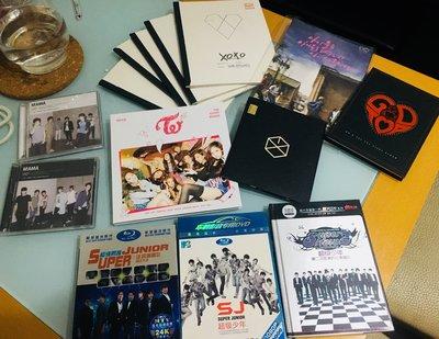 EXO BIGBANG UKISS SUPERJUNIOR TWICE - DVD