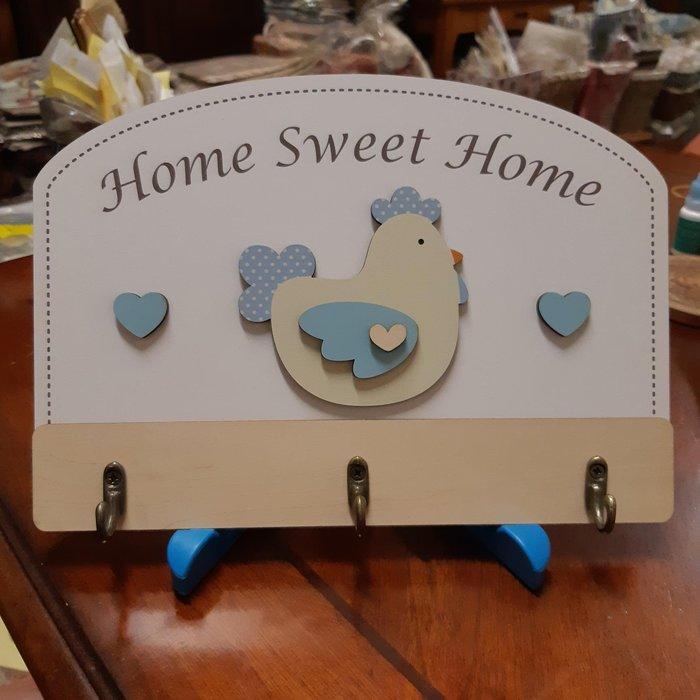 美生活館  Home Sweet Home  愛心 公雞 造型 掛勾
