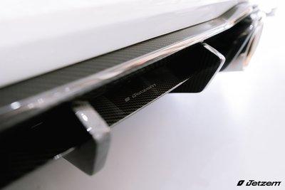 Jetzem BMW F87 M2 M2C M2 competition Jetzem 後下巴 全碳 TRANCO