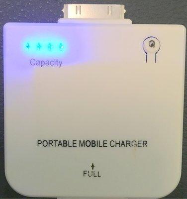 95%新【iPhone 4s 4 3s 3  iPad iPod】移動 充電器 mobile Charger 1,900mAh(原價$80)