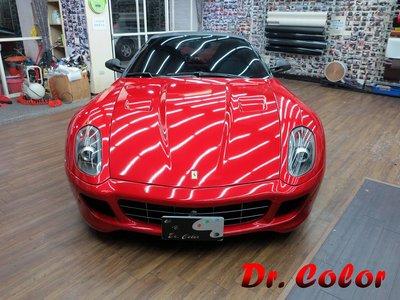 Dr. Color 玩色專業汽車包膜 Ferrari 599 GTB 全車包膜改色 (3M 1080_G363)