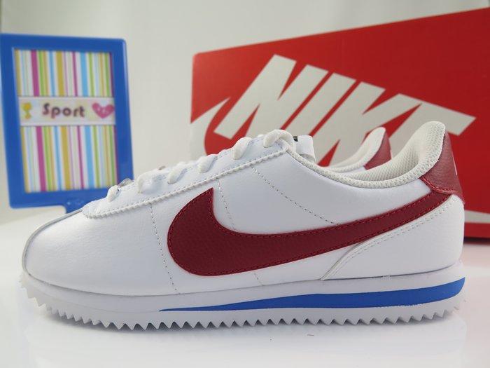 iSport愛運動 Nike CORTEZ BASIC S (GS) 休閒鞋正品 904764103大童/女款 白紅勾
