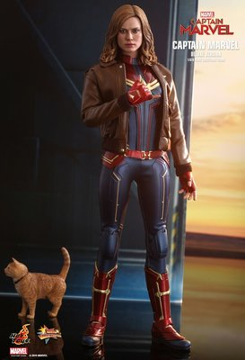 售首日會員訂單1張(8/2)Hottoys Captain Marvel (Deluxe)(MMS522) Hot Toys 驚奇隊長 豪華版