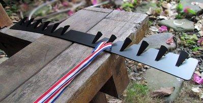 ☆成志金屬☆設計款鐵製掛鉤、獎牌架、排勾、掛勾,可直接使用3M黏貼不需鑽孔