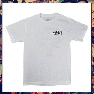 【三分之二】SUICIDAL TENDENCIES × DOGTOWN Logo  //復古潮流/Tee