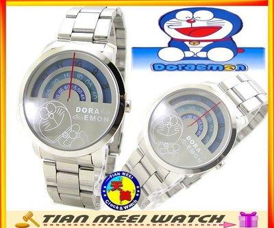 【天美鐘錶】【超低價有保固】全新原廠公司貨-小叮噹DORAEMON-體重機造型-圓大