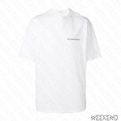 【WEEKEND】 IH NOM UH NIT David Bowie Scream 短袖 上衣 T恤 白色 19春夏