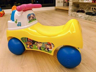 費雪 little people-歡樂音樂家騎乘玩具 音樂嚕嚕車 音樂行步車