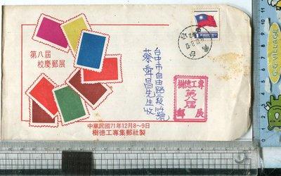 老藏樂  國旗郵票  樹德科技大學  集郵社  校慶郵展  首日