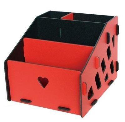 DIY三層置物架( 大量 置物架 桌上置物盒 文具盒 筆筒 ) #868