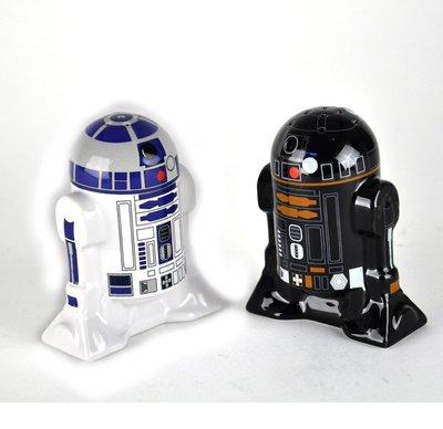 德國 星際大戰 Star Wars R2D2 R2Q5 陶瓷 胡椒罐 鹽罐 R2-D2