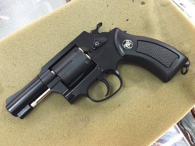 JHS((金和勝 生存遊戲專賣))黑色 M36左輪  CO2手槍