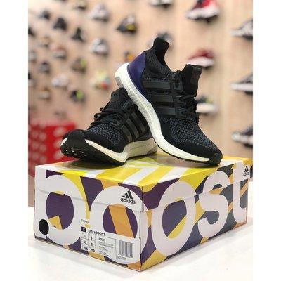 {Moli}Adidas UltraBOOST OG 黑紫初代 2018 復刻 元年配色 黑 紫 G28319