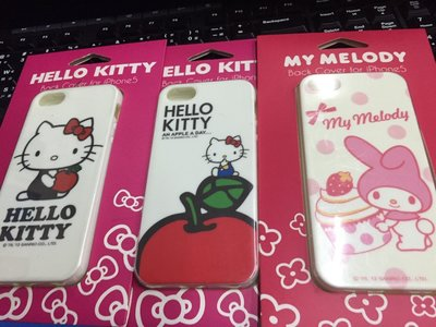 Garmma系列 GOMO Hello Kitty 美樂蒂 iPhone SE/5S/5 TPU 軟殼 保護殼 保護套