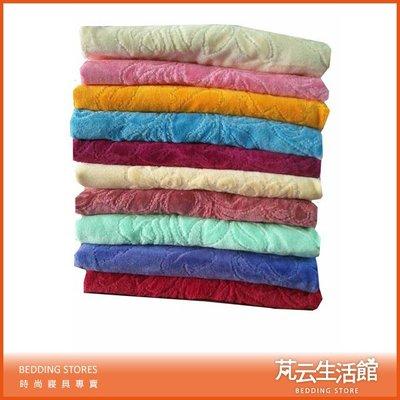 【芃云生活館】方格牌緹花枕巾(2入)~2個/1對