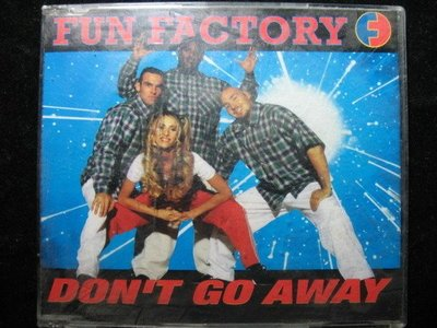 遊戲工廠 Fun Factory - Don't Go Away - 1996年REGULAR EP版 - 81元起標