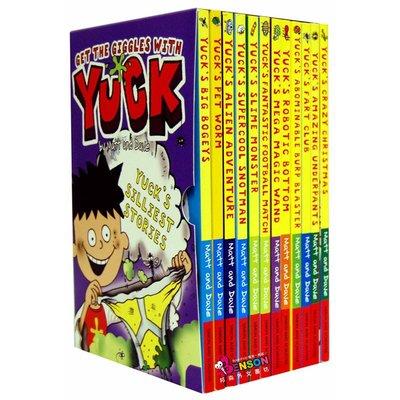 [邦森外文書] Get the Giggles with Yuck 12本 平裝本盒裝套書 *限時免運*