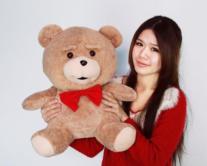 拉拉小站~熊麻吉娃娃~熊麻吉大玩偶~高50公分~熊娃娃~泰迪熊~人氣商品