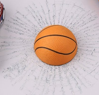 3D立體玻璃車貼 / 創意籃球車貼