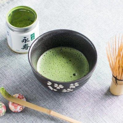 日本茶道日式和風抹茶碗大號功夫茶具套裝櫻花陶瓷家用斗-單茶碗款TZ139