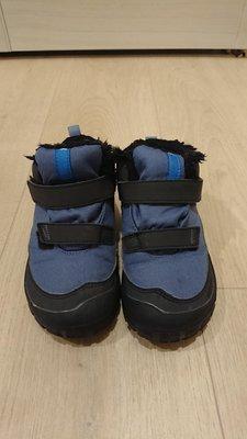 迪卡儂兒童雪靴,雪鞋 18cm