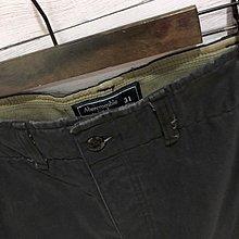 Maple麋鹿小舖 Abercrombie&Fitch * AF 洗舊黑色工作短褲 * ( 現貨31號 )