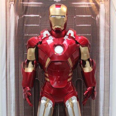 【 IRON MAN鋼鐵人】Mark7 馬克7 / 可穿戴全身盔甲/鋼鐵衣/漫威/復仇者聯盟/Cosplay 終局之戰/EVA盔甲道具服裝定做