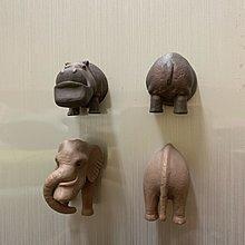 戽斗星球,全家加購,磁鐵功能小物,大象,河馬