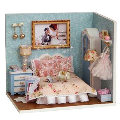 【酷正3C】DIY小屋 袖珍屋 娃娃屋 模型屋 材料包 玩具娃娃住屋 交換禮物 手工拼裝房子 幸福系列 H010幸福一刻