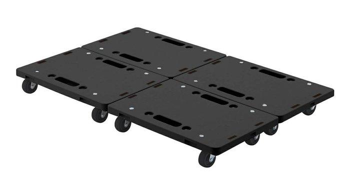 【無敵餐具】康得倫KT-609經典黑輕巧平板車410X275X77mm【N0008】