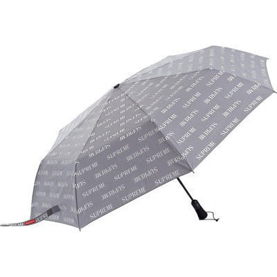 [ PQ.usa ] Supreme 2016AW Reflective Repeat Umbrella 雨傘