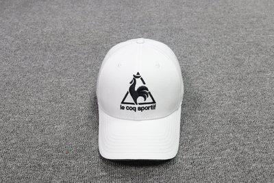 法國公雞 LE COQ SPORTIF刺繡  男女款 遮陽帽子 棒球帽 鴨舌帽 老帽 洋基帽t