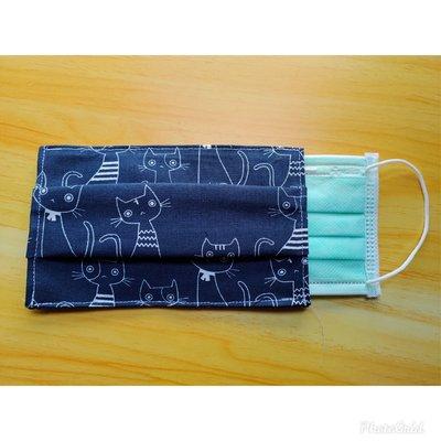 小瓶子~~簡易素雅手工鋪棉口罩布套.立體口罩.兒童口罩.目前採隨機出貨唷