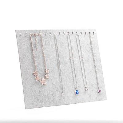 hello小店-絨布項鏈吊墜展示架大容量銀飾飾品首飾展示道具#飾品架#展示道具#