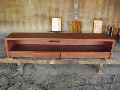 【きの原味】花梨木電視櫃-台南 原木 家具